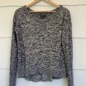 AEO - Shimmery Scoop-Neck  Sweater - M